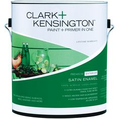 Glow ace hardware paint and hardware on pinterest - Clark and kensington exterior paint ...