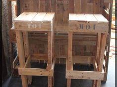 Construire un salon de jardin en bois de palette | casa | Pinterest ...