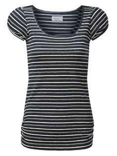Striped hemp jersey Tee with a casual cut - Summer classic.