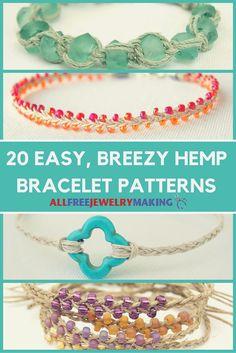 Hemp bracelets are t