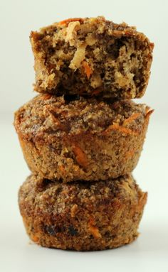Apple Carrot Muffins. Another try at finding nutritious AND yummy foods for my toddlers :-)