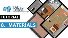 Dibac for SketchUp tutorial - Materials