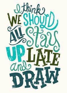 30 Inspiring Hand Drawn Lettering Poster Designs