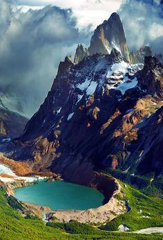 Mount Fitz Roy and laguna Torre - Patagonia, Argentina