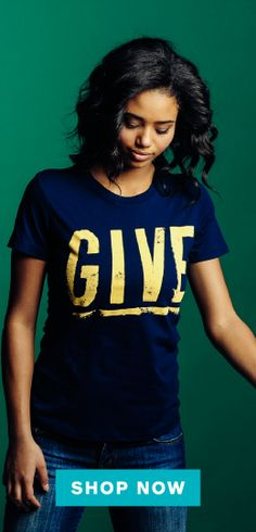 Every purchase here sends a shoebox gift to a child in need! http://www.sevenly.org/?cid=ShrPinterestOperationChristmasChild