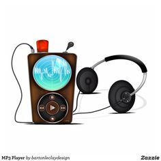 MP3 Player Photo Sculpture Ornament