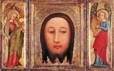 Meister Bertram von Minden - Triptych - The Holy Visage of Christ - WGA14313.jpg
