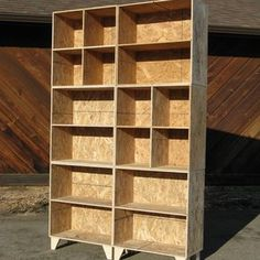 Mix And Match Bookcase And Cubbies custom made by Modular Osb