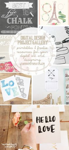 A Great selection of Free Fonts, Graphics, Printables & more!