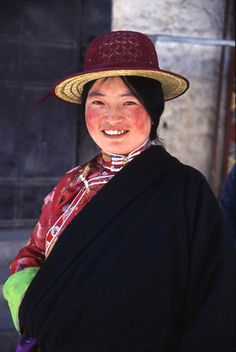 Tibetan beautiful lady.