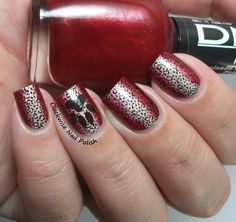 The Clockwise Nail Polish: DNA & Italy & Claire's Leopard Nails