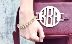 Grateful Bags | Game Day Bag | Monogrammed
