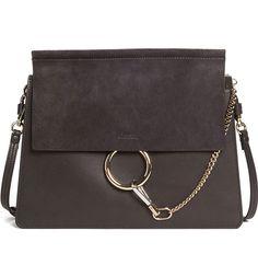 Splurge: Chloé Medium Faye Suede and Leather Bag