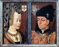 Philippe le Bon et Isabelle de Portugal, duc et duchesse de Bourgogne.  Nascida em Évora a 21 de Fevereiro de 1397, filha do rei D. João I e de D. Filipa de Lencastre, era irmã, entre outros, do Infante D. Henrique, de Pedro, Duque de Coimbra, e de D. Duarte, rei de Portugal, sucessor de João I. Casou em 1429 com o conde da Flandres e duque da Borgonha Filipe III, cognominado de o Bom. Foi por seu intermédio que os Açores se tornaram residência de inúmeras pessoas de origem flamenga.