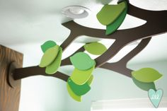 Woodland Playroom: Tree Branches-- Design Loves Detail