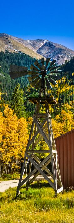 Windmill near Twin Lakes Colorado To purchase a print please click ...