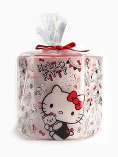 #HelloKitty toilet tissue makes the perfect gift
