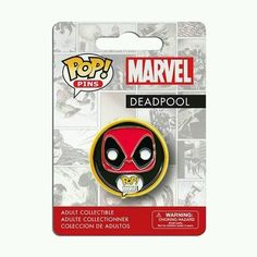 Deadpool Pop pin in Collectibles, Pinbacks, Bobbles, Lunchboxes, Bobbleheads, Nodders | eBay