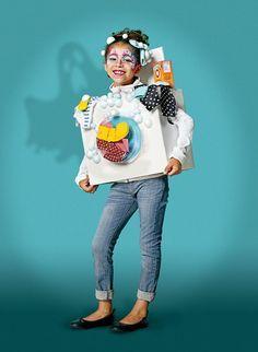 Faire Un D Guisement De Robot Halloween Facilement Idee Per Elias Pinterest Robots Et
