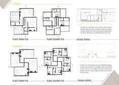 Portafolio Maria Camila Arango on Behance Revit Architecture, Online Portfolio, Autocad, Adobe, Floor Plans, Behance, How To Plan, Building, Thesis