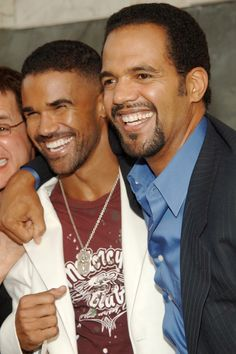 Shemar Moore Tearfully Remembers His Late Young & the Restless Costar Kristoff St. John: 'He Embraced Me Like a Brother' Shemar Moore Tearfully Remembers Kristoff St. John: 'He Embraced Me Like a Brother' Tonya Lee Williams, Sherman Moore, Soap Stars, Press Tour, Hollywood Actor, Hollywood Actresses, Young And The Restless, Favorite Tv Shows, Beautiful Men