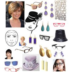 """""""The Round Face"""" by transform-image-consulting on Polyvore"""
