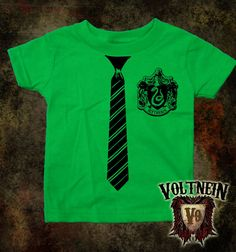 Slytherin Tie and Emblem Harry Potter Outfits, Slytherin, Tee Shirts, Tie, Trending Outfits, Clothing, Mens Tops, Baby, Outfits