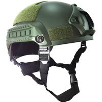 Mich 2001 Tactical Operation Airsoft Paintball Helmet wargame ARC Rail NVG Mount