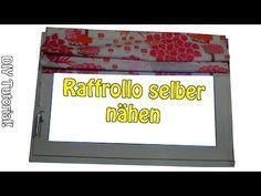 Raffrollo selber nähen - Nähen für Anfänger - DIY Anleitung › Nähen für Anfänger! DIY roman shade