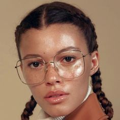 looking glasses: danielle lashley for allure us jan. People With Glasses, Girls With Glasses, Beauty Makeup, Hair Makeup, Hair Beauty, Beauty Skin, Pretty People, Beautiful People, Piercings