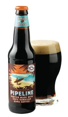 Kona Brewing Co: Pipeline Porter (5.4% ABV) What my wife describes as a crisp, chocolatey perfect winter beer. A hint of molasses drives this tasty coffee infused porter home. Another nice brew from the boys at Kona. Mahalo.