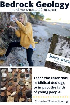Let your homeschool high school student stand out with the science of Geology on his or her high school transcript!  Bedrock Geology has been designed to teach the essentials in Biblical Geology, to impact the faith of young people, and to be cost conscious.  Please note that the kit includes the textbook and samples. Learn more today! #christianhomeschooling #geology #geologyforkids #christianhomeschoolhighschool #biblicalworldview Bible Science, Earth Science, Science And Nature, Homeschool Science Curriculum, Homeschool High School, Homeschooling, High School Transcript, True Nature, Adventure Tours