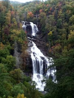 Whitewater Falls - highest waterfall east of the Rockies - near Hendersonville/Asheville NC