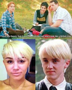 I've been saying for months that Miley looks like the love child of Draco Malfoy and Cynthia (Angelica's doll from Rugrats)!!!!!