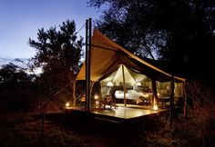 South Africa in 10 Days - This 10 Day South African itinerary covers many aspects including Cape Town, the Cape Winelands, Zululand and a quality safari in the Kruger National Park. Tent Camping, Glamping, Camping Tips, Outside Magazine, Camping Photography, African Safari, Lodges, The Great Outdoors, Adventure Travel