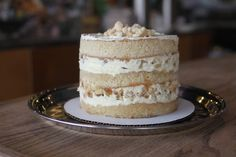 our apple pie wedding cake
