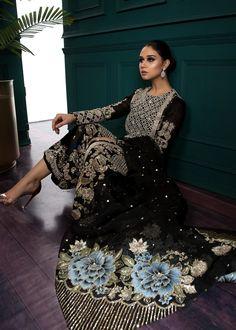 Indian Prom Dresses, Pakistani Dresses Party, Pakistani Dress Design, Indian Wedding Outfits, Bridal Outfits, Indian Outfits, Bridal Dresses, Pakistani Designers, Beautiful Dress Designs