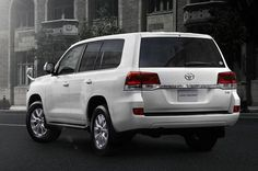 Toyota has revealed the facelift of Toyota Land Cruiser 200 in Japan. The car comes with lot of safety features including pre-collision system, Radar Cruise control , Lane Departure Alert etc. Toyota Lc, Toyota Trucks, Toyota Cars, Lifted Ford Trucks, Land Cruiser 200, Toyota Land Cruiser, Range Rover Sport, Latest Cars, Bugatti Veyron