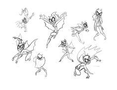 SBFF Batgirl sketches by *fyre-flye on deviantART