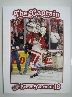 Detroit Red Wings Steve Yzerman