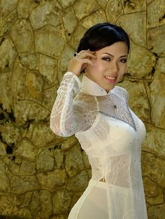 Visit the post for more. Vietnamese Traditional Dress, Vietnamese Dress, Traditional Dresses, Ao Dai, Sexy Asian Girls, Beautiful Asian Girls, Sexy Dresses, V Dress, Hot Japanese Girls