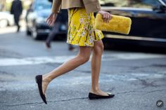 spring street style photo of Giovanna Battaglia after Marni during Milan Women's Fashion Week Fall/Winter 2014.