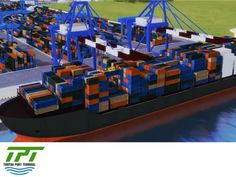 THE BEST PORT TERMINAL IN MEXICO will have the most advanced technology for the loading and unloading maneuvers of containerships, general cargo and car ships. Tuxpan Port Terminal also will have a Control Operating System developed by Tideworks Technology, which will be operated by highly trained personnel in order to provide the best service and high levels of productivity to its users. #tpt #puertodetuxpan