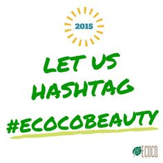 To enter IG's weekly featured giveaway, please follow us @ecoco_beauty, share your look with hashtag ‪#‎ecocobeauty‬. *US ONLY* Good luck, everyone!! https://instagram.com/ecoco_beauty/