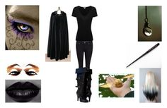 """""""Cousin Black"""" by padfoots-girl on Polyvore featuring beauty, Prada, Paige Denim and James Perse"""