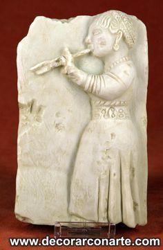Flautista Íbera   - (14,5x9cm)