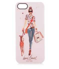 Adorned with a custom Izak illustration, the Strut Your Stuff Case for iPhone 5/5s is a stylish iPhone case for the tech-savvy sophisticate. Perfect for protecting your precious phone, this fabulous fashion accessory belongs in every connected Bendel Girl's collection of designer phone cases.