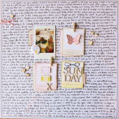 How to Hide in Plain Sight:: A Scrapbook Tutorial by Kirsty Smith @ shimelle.com