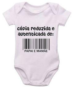 Bodies de frases lindos você encontra na Bebezucos Moda Infantil Curitiba