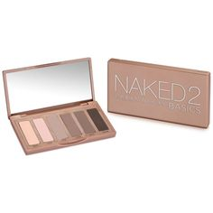 Urban Decay Naked2 Basics Eyeshadow Palette (38 CAD) ❤ liked on Polyvore featuring beauty products, makeup, eye makeup, eyeshadow, beauty, no color, urban decay cosmetics, palette makeup, urban decay makeup and urban decay